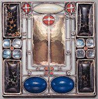 THE BLUE LANTERN: for  Lili Waerndorfer: Art Patrons In New Vienna 1904 brooch