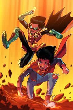 The Super Sons by Stephen Byrne