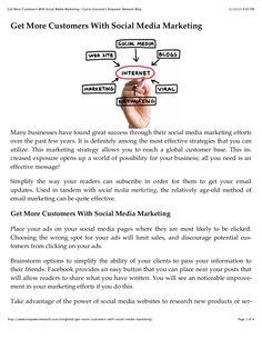 by Carrie Giaconia via Slideshare Internet Marketing, Social Media Marketing, Document Sharing, Carrie, Blog, Online Marketing, Blogging