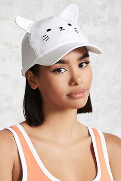 Cat Face Baseball Hat - Accessories for Women   Sunglasses, Backpacks & Wallets   Forever 21 - 2000144089 - Forever 21 EU English