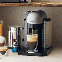 meet nespresso vertuoline a new way to enjoy freshly brewed coffee as well as rich authentic espresso at the touch o
