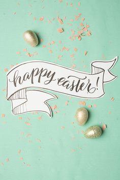 I Still Love You by Melissa Esplin: Last-Minute Happy Easter Printable Hoppy Easter, Easter Bunny, Easter Eggs, Happy Easter Banner, Easter Wishes, Easter Puzzles, Easter Printables, Free Printables, I Still Love You