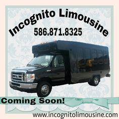 New Party Bus Coming Soon! Now Taking Reservations 586-871-8325