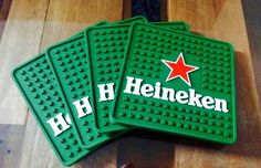Porta Copos Heineken (Verde) - Decora Light