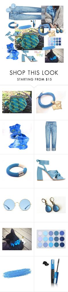 """Happy Spring!!!"" by justforyouhm ❤ liked on Polyvore featuring Brunello Cucinelli, Anna F., Ray-Ban, By Terry, Isadora, rustic and vintage"