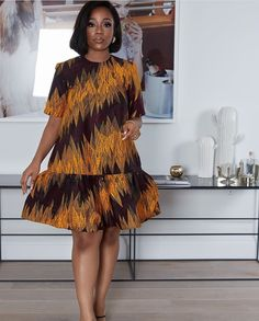 Classy Short Ankara Gown Styles for Beautiful Ladies - African Fashion Ankara, Latest African Fashion Dresses, African Print Fashion, Africa Fashion, African Men, African Style, Short African Dresses, African Print Dresses, African Prints