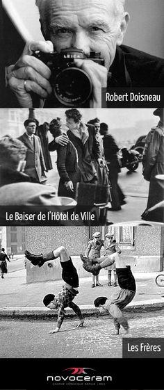 [FRANCE] 2012 : Centenaire de la naissance de Robert Doisneau, connu pour ses photos en noir et blanc de la FRANCE...une des 7 valeurs fondamentales de Novoceram   http://www.novoceram.fr/blog/france/robert-doisneau-illustre-photographe-francais