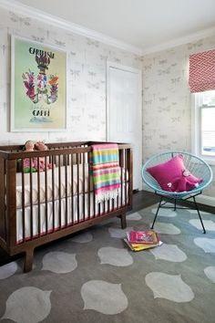 Pretty baby nursery