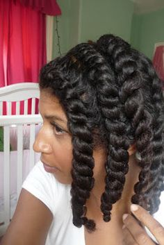 Twists for natural hair can be tucked back or together on a Tuesday, and undone for amazing curls on a Wednesday. - - This almost made me want to be natural again Be Natural, Natural Hair Tips, Natural Hair Journey, Natural Hair Styles, Natural Twists, Hair Colorful, Curly Nikki, Natural Hair Inspiration, Twist Outs