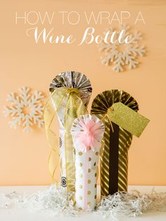 Hi Everyone! We are super excited because today we have a little DIY on how to wrap wine bottles from our good friend and lifestyle blogger Anne Sage of The City Sage. Anne was nice enough to do a little guest post for us and we LOVE what she has come up with! Aren't these wine bottles beautiful! This is such an easy and stunning way to wrap wine bottles. I think we all have the...KEEP READING!