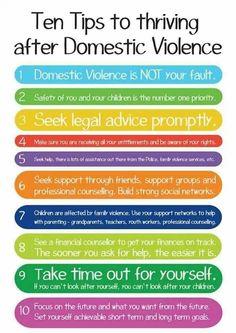 10 tips to thriving after domestic violence https://sobreviviendoapsicopatasynarcisistas.wordpress.com/
