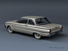A Garagem Digital de Dan Palatnik | The Digital Garage Project: 1960 Ford Falcon 2-Door