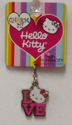 Hello Kitty Love Charm: $4.99.  For more information or to check availability, call or email Polka Dots. 916-791-9070. polkadotsproshop@gmail.com