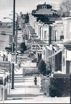 Belair Road, 1972. Home sweet home.