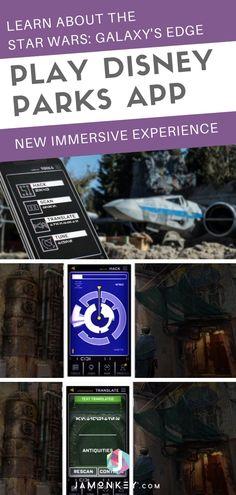 Star Wars: Galaxy's Edge Immersive Play Disney Parks App Experience