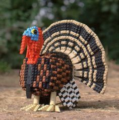turkey out of legos