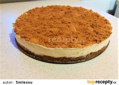 Lotus cheesecake z tvarohu recept - TopRecepty. Lotus Cheesecake, Cheesecakes, Sweet Recipes, Tiramisu, Food And Drink, Cooking, Ethnic Recipes, Desserts, Party