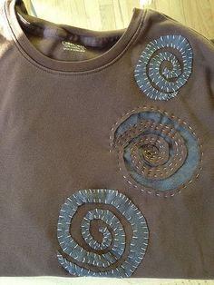 Alabama Chanin T Shirt