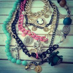DeMode gipsy summer necklace