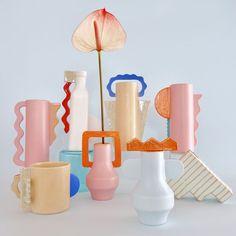 Ceramic Clay, Ceramic Pottery, Pottery Art, Diy Clay, Clay Crafts, Keramik Design, Clay Art, Decoration, Cool Designs