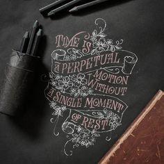 Amazing type... Love Dark Lettering ____  #typography