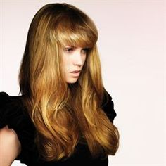Fringe and blonde i want.