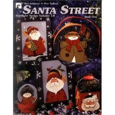 Leisure Arts - Santa Street 1, $4.00 (http://www.leisurearts.com/products/santa-street-1.html)