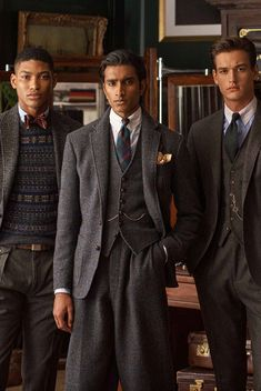 Polo Ralph Lauren Continues Its Cinematic Legacy Dandy, Purple Label, Herringbone Suit, Ralph Lauren Suits, Ivy League Style, Sharp Dressed Man, Gentleman Style, Preppy Style, Dapper