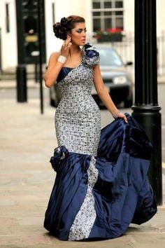 African Wedding Dresses - Amoize Magazine - A premiere African lifestyle and culture magazine ~African Prints, African women dresses, African fashion styles, african clothing African Attire, African Wear, African Women, African Dress, African Shop, African Inspired Fashion, African Print Fashion, Africa Fashion, African Prints