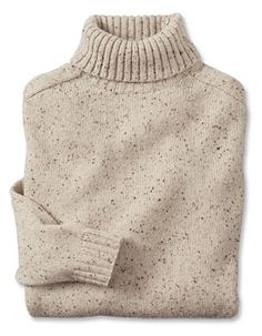 Just found this Mens Turtleneck Sweater - Wool-Cashmere Donegal Turtleneck -- Orvis on Orvis.com!
