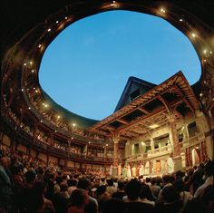 The Globe theatre, situated on the bustling London South Bank, is a beautiful and considerate nod to the past. It was inspired from the plans of the original Globe theatre, built in 1599 by Shakespeare's play company and destroyed by fire in 1613.