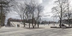 New National Museum Stettino 'Dialogue Centre Przełomy' designer  KWK Promes (Robert Konieczny architect)