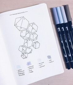 Bullet Journal Collection: Track Your Moods with a Bullet Journal