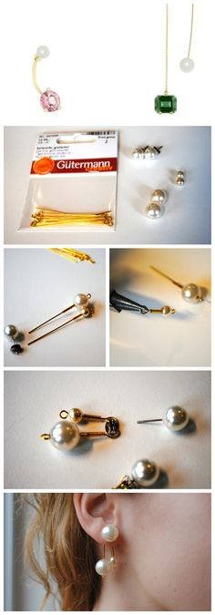 Delfina Delettrez inspired earrings - DIY - Pearl Paradise