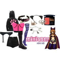 """Millianna (Grand Magic Games)"" from the anime series Fairy Tail by aliazuras on Polyvore"