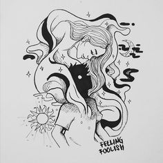 ridhoriwidyanto/2016/10/06 01:55:17/Something in your magnetism must have pissed them off, forcing them to get an early night (stuck on the puzzle) . . . . . . . . #inktober #inktoberid #inktober2016 #submarine #alexturner #night #doodle #artwork #art #drawing #sketch #illustration #day5 #fool #fuckin #love #bw