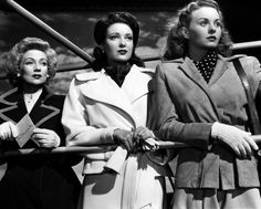 Ann Sothern, Linda Darnell & Jeanne Crain in A Letter to Three Wives