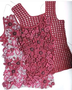 28 best ideas for crochet lace top pattern ganchillo - Crochet Beau Crochet, Pull Crochet, Mode Crochet, Crochet Lace Tops, Cardigan Au Crochet, Black Crochet Dress, Crochet Cardigan, Lace Sweater, Irish Crochet Patterns