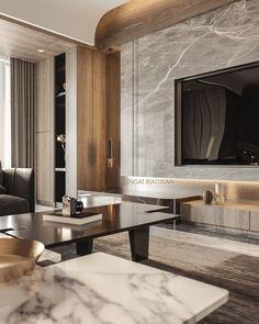 成熟_效果图区_室内设计联盟 - Powered by Discuz! Living Room Tv, Living Room Interior, Tv Furniture, Furniture Design, Tv Wall Design, House Design, Black And Silver Wallpaper, Modern Interior, Interior Design