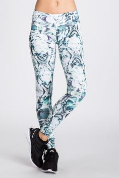 Supplex Legging Nice futuristic look about these... Awesome with a white mesh tank. @bandiernyc