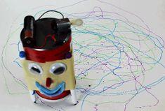 how to make an art bot scribble bot