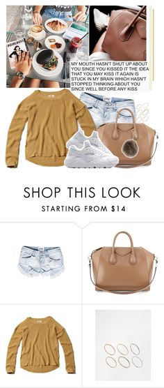 """JL"" by jonaticaajesy ❤ liked on Polyvore featuring Givenchy, Hollister Co., ASOS and Fendi"