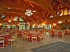 Reception Hall - Timber Framing - Elegant Structure  www.texastimberframes.com https://www.facebook.com/pages/Texas-Timber-Frames/72503484999