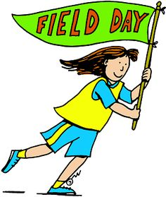 Field Day at school! Usually held on the last day of the school year, when we had nothing else to do.