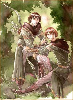 File:Jenny Dolfen - Amrod and Amras, sons of Feanor.jpg