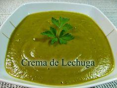 Crema de lechuga Saludable, muy rica y fácil de hacer. Soup Recipes, Cantaloupe, Pudding, Fruit, Desserts, Blog, Gazpacho, Facebook, Youtube