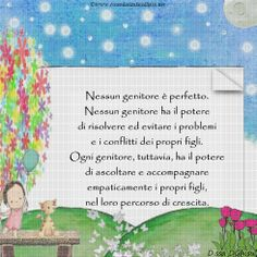 I #genitori hanno il potere di ascoltare e accompagnare i #figli nella loro crescita.  #educazione #mamma #bambini #papà #crescita #bambino #mamme #sviluppocognitivo #famiglia #puerperio  #dssadghisu