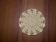 Stacked Shells Mini-Doily-Crochet Doily- not my normal style but I need to do some for a gift basket