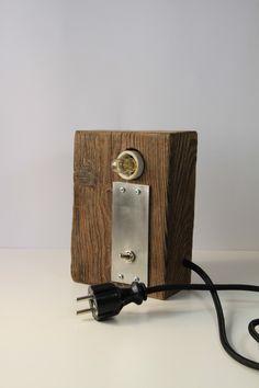 "Lampa ""Metal max"" - Blauth-Hand-Made - Lampy stołowe"