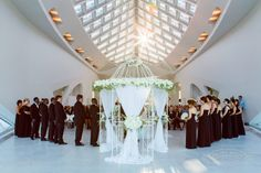 Milwaukee Art Museum Wedding: Bitsy & Camille had a most memorable wedding starting at Iron Horse and ending at MAM!